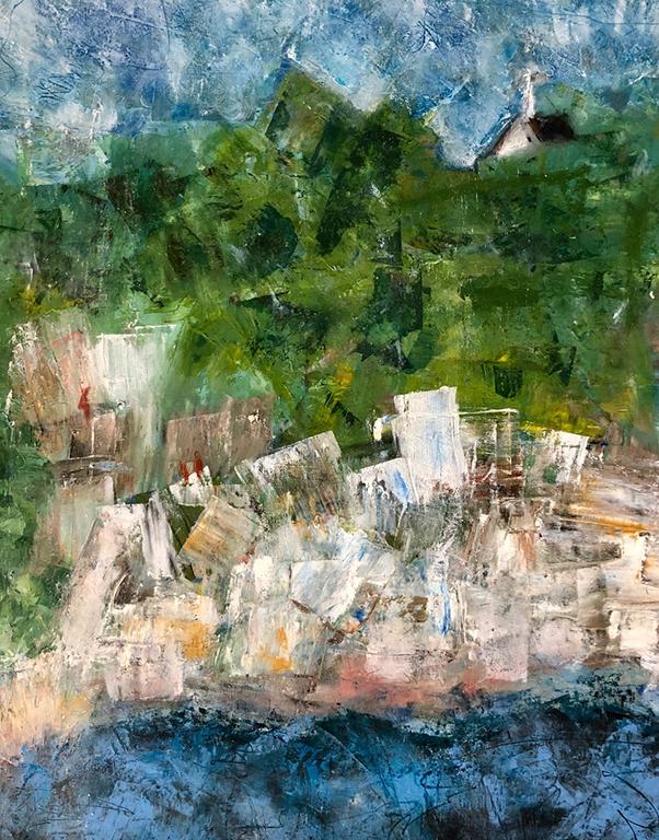2-Caselden, Donna_ Manship Quarry_30x24x1.5_Oil on canvas